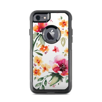 OtterBox Commuter iPhone 7 Case Skin - Fresh Flowers