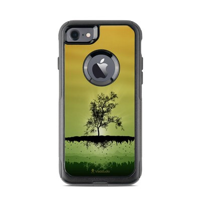 OtterBox Commuter iPhone 7 Case Skin - Flying Tree Amber