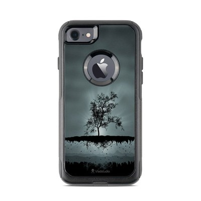 OtterBox Commuter iPhone 7 Case Skin - Flying Tree Black