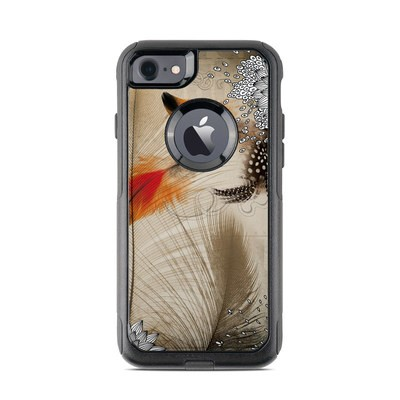 OtterBox Commuter iPhone 7 Case Skin - Feather Dance