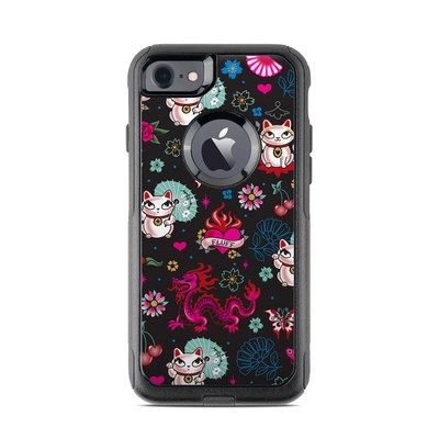 OtterBox Commuter iPhone 7 Case Skin - Geisha Kitty