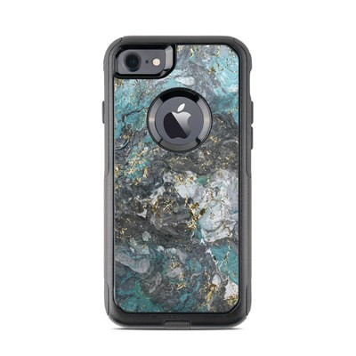 OtterBox Commuter iPhone 7 Case Skin - Gilded Glacier Marble