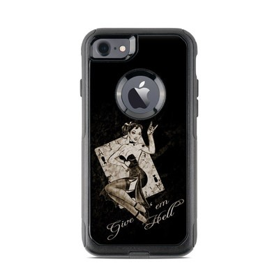 OtterBox Commuter iPhone 7 Case Skin - Give Em Hell