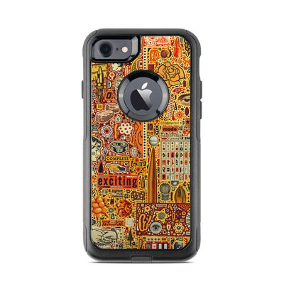 OtterBox Commuter iPhone 7 Case Skin - The Golding Time
