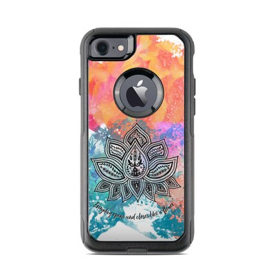 OtterBox Commuter iPhone 7 Case Skin - Happy Lotus