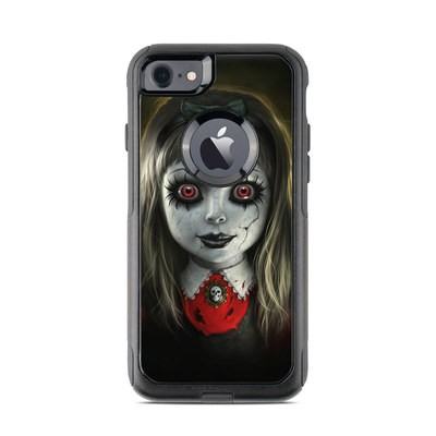 OtterBox Commuter iPhone 7 Case Skin - Haunted Doll