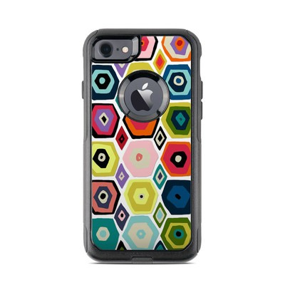 OtterBox Commuter iPhone 7 Case Skin - Hex Diamond