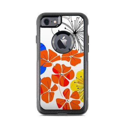 OtterBox Commuter iPhone 7 Case Skin - Hibiscus Dance