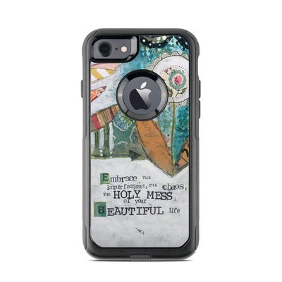OtterBox Commuter iPhone 7 Case Skin - Holy Mess