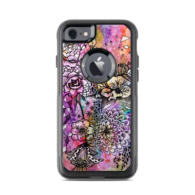 OtterBox Commuter iPhone 7 Case Skin - Hot House Flowers