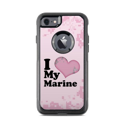 OtterBox Commuter iPhone 7 Case Skin - I Love My Marine