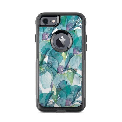 OtterBox Commuter iPhone 7 Case Skin - Iris Petals