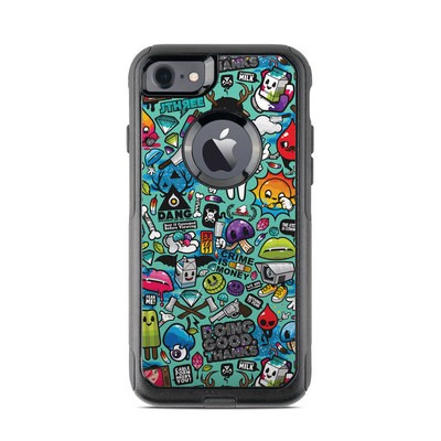 OtterBox Commuter iPhone 7 Case Skin - Jewel Thief