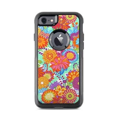 OtterBox Commuter iPhone 7 Case Skin - Jubilee Blooms