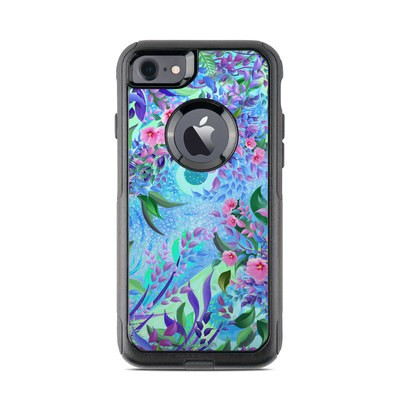 OtterBox Commuter iPhone 7 Case Skin - Lavender Flowers