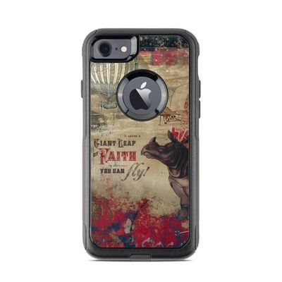 OtterBox Commuter iPhone 7 Case Skin - Leap Of Faith
