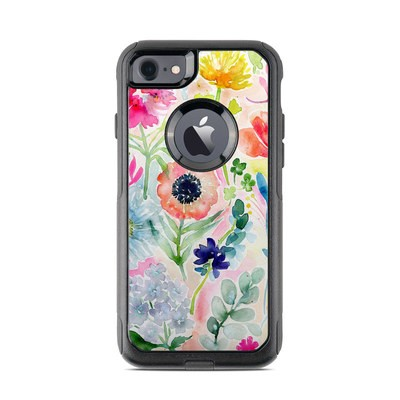 OtterBox Commuter iPhone 7 Case Skin - Loose Flowers