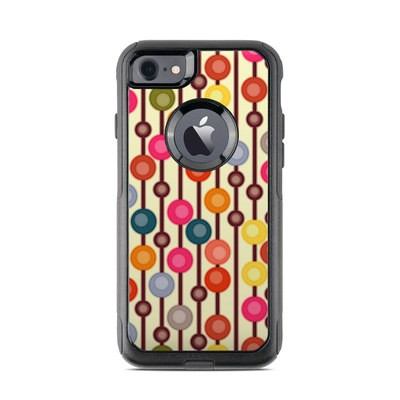 OtterBox Commuter iPhone 7 Case Skin - Mocha Chocca