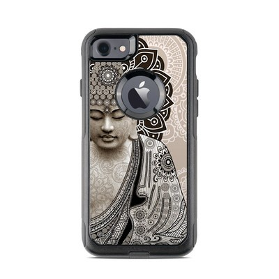 OtterBox Commuter iPhone 7 Case Skin - Meditation Mehndi