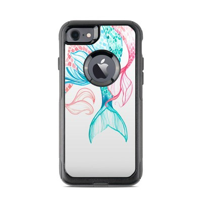 OtterBox Commuter iPhone 7 Case Skin - Mermaid Tails