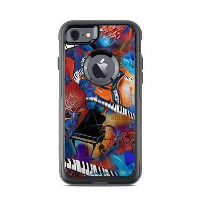 OtterBox Commuter iPhone 7 Case Skin - Music Madness