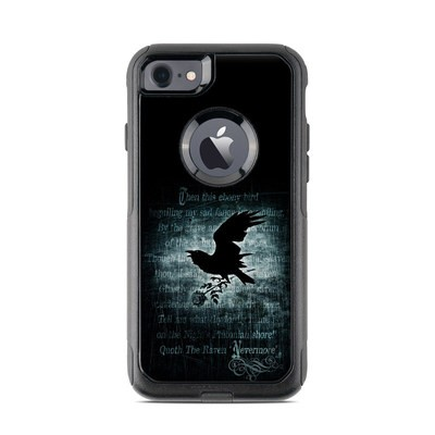 OtterBox Commuter iPhone 7 Case Skin - Nevermore