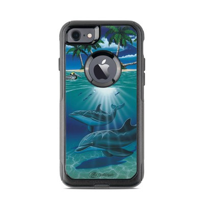 OtterBox Commuter iPhone 7 Case Skin - Ocean Serenity