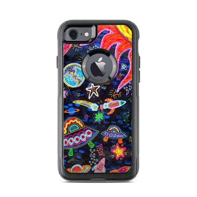 OtterBox Commuter iPhone 7 Case Skin - Out to Space