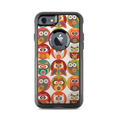 OtterBox Commuter iPhone 7 Case Skin - Owls Family