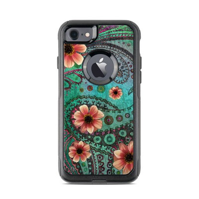 OtterBox Commuter iPhone 7 Case Skin - Paisley Paradise