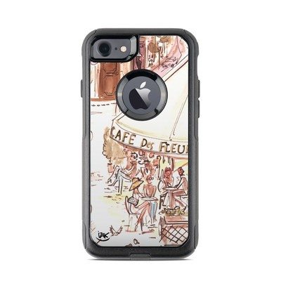 OtterBox Commuter iPhone 7 Case Skin - Paris Makes Me Happy