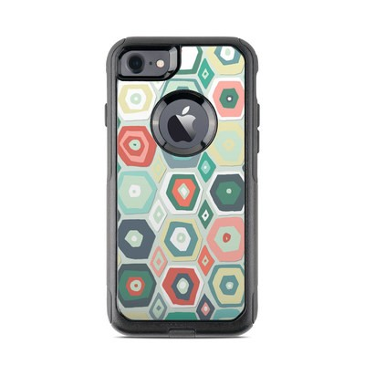 OtterBox Commuter iPhone 7 Case Skin - Pastel Diamond