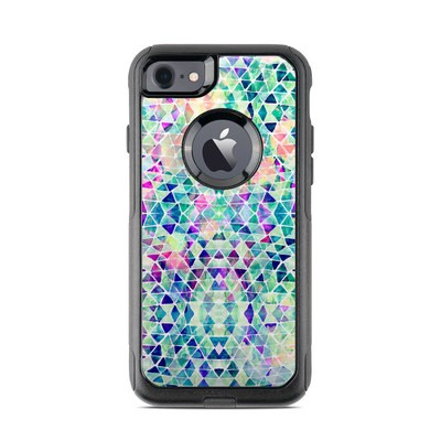 OtterBox Commuter iPhone 7 Case Skin - Pastel Triangle