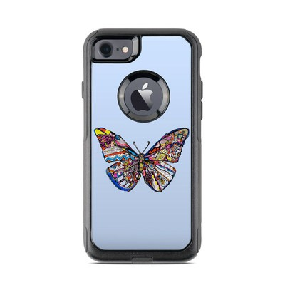 OtterBox Commuter iPhone 7 Case Skin - Pieced Butterfly