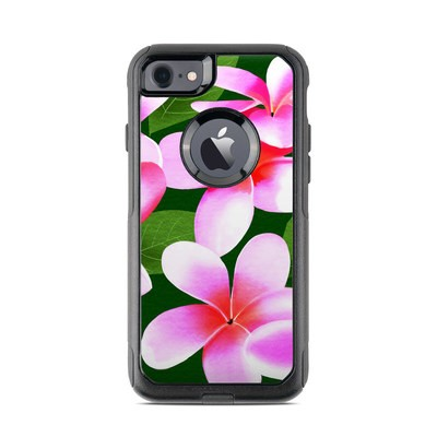 OtterBox Commuter iPhone 7 Case Skin - Pink Plumerias