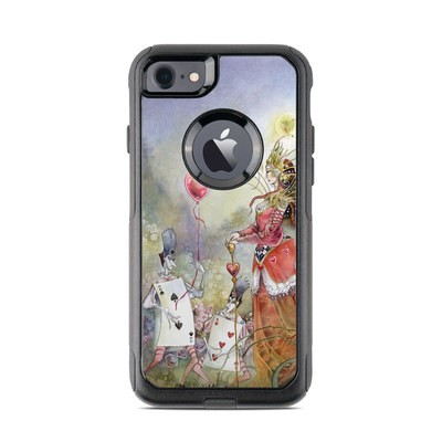 OtterBox Commuter iPhone 7 Case Skin - Queen of Hearts