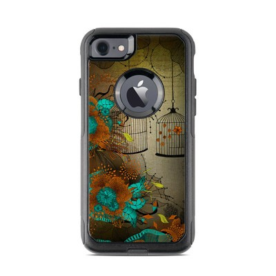 OtterBox Commuter iPhone 7 Case Skin - Rusty Lace