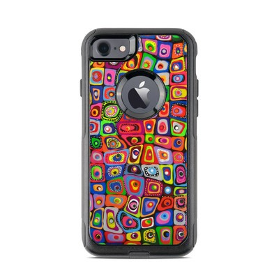 OtterBox Commuter iPhone 7 Case Skin - Square Dancing