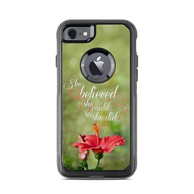 OtterBox Commuter iPhone 7 Case Skin - She Believed