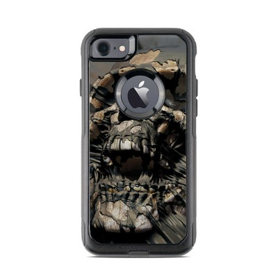 OtterBox Commuter iPhone 7 Case Skin - Skull Wrap