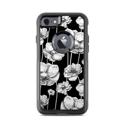 OtterBox Commuter iPhone 7 Case Skin - Striped Blooms