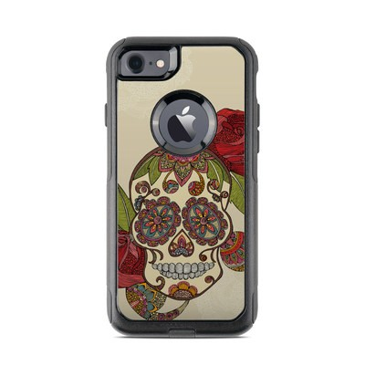 OtterBox Commuter iPhone 7 Case Skin - Sugar Skull