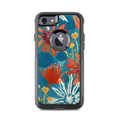 OtterBox Commuter iPhone 7 Case Skin - Sunbaked Blooms