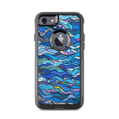 OtterBox Commuter iPhone 7 Case Skin - The Blues