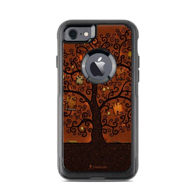 OtterBox Commuter iPhone 7 Case Skin - Tree Of Books