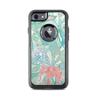 OtterBox Commuter iPhone 7 Case Skin - Tropical Elephant