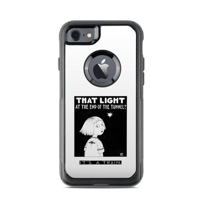 OtterBox Commuter iPhone 7 Case Skin - Train Tunnel