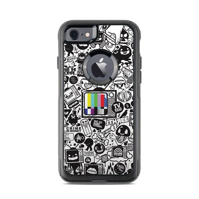 OtterBox Commuter iPhone 7 Case Skin - TV Kills Everything