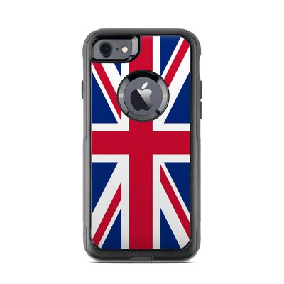 OtterBox Commuter iPhone 7 Case Skin - Union Jack