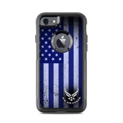 OtterBox Commuter iPhone 7 Case Skin - USAF Flag